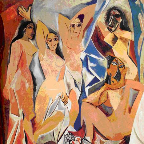 Les Demoseiles D'Avignon – Picasso 1918